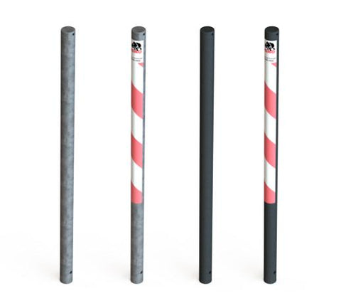 Essentials galvanized steel bollards