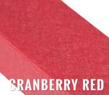 Recycled Plastic Slat - Cranberry Red