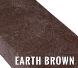 Recycled Plastic Slat - Earth Brown