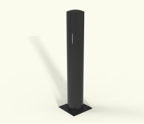 Rhino RB 101 Steel Powder Coated Baseplated Bollard