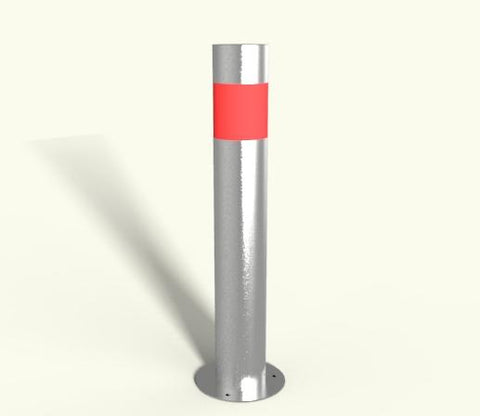 Rhino RS150 Stainless Steel Bollard Baseplated