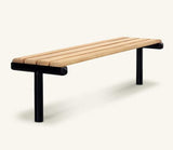 Ferrocast Parkway Polyurethan and Timber Bench