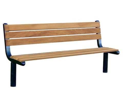 Ferrocast Parkway Polyurethane and Timber Seat