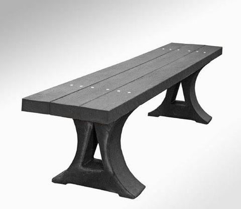 Intruplas Rustic Recycled Plastic Bench