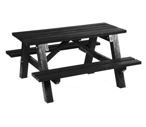 Intruplas Rustic Recyled Plastic Picnic Table