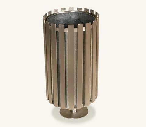 Ollerton Stainless Steel Litter Bin