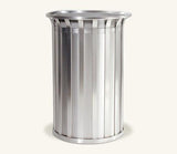 Ollerton M3 Contemporary Stainless Steel Flared Top 85L Litter Bin