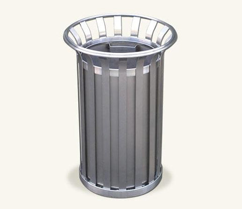 Ollerton M3 Contemporary Stainless Steel Flared Top 40L Litter Bin
