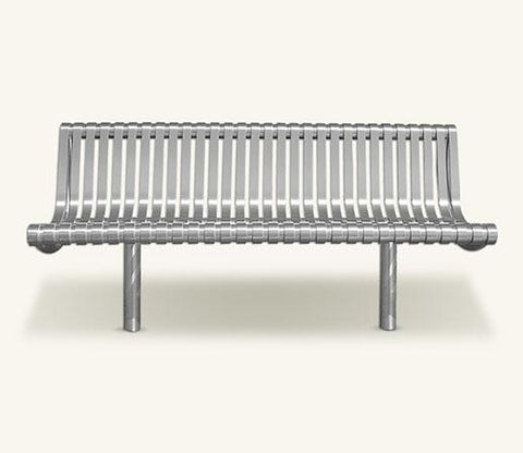 Ollerton M3 Contemporary Straight Stainless Steel Seat
