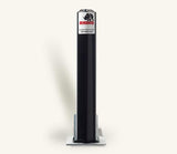 Rhino RT RD4 Round Steel Powder Coated Black Telescopic Security Bollard