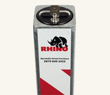 Rhino RTSQ8 Heavy Duty Square Steel Telescopic Bollard