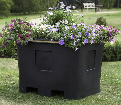 Square Plastic Planter