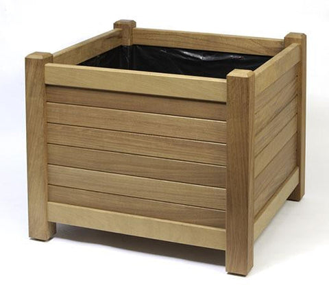 Square Timber Planter
