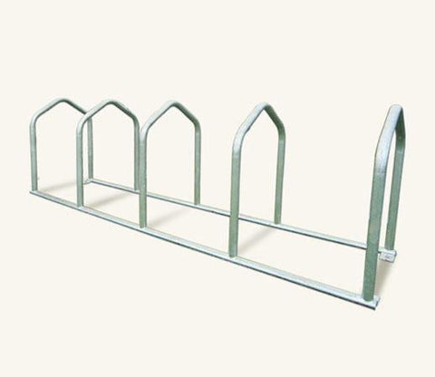Urban R10 Senior Galvanised Steel Cycle Rack 10 Cycle Cpacity
