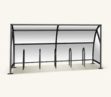 Urban Velozone Steel Powder Coated Cycle Shelter
