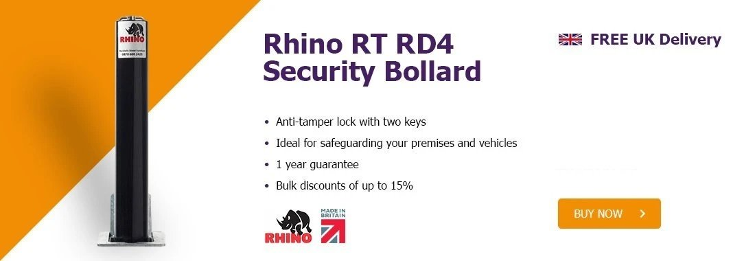 Rhino RT RD4 Bollards