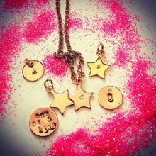 star necklace by lux & luz