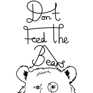 bear logo with text