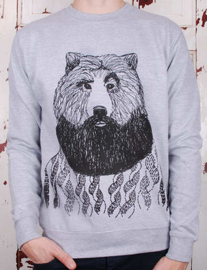 bearded bear jumper