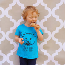 blue bear cub t-shirt