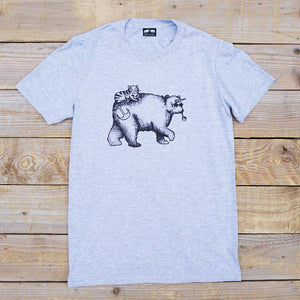 'Bearicorn & Cat' T-Shirt