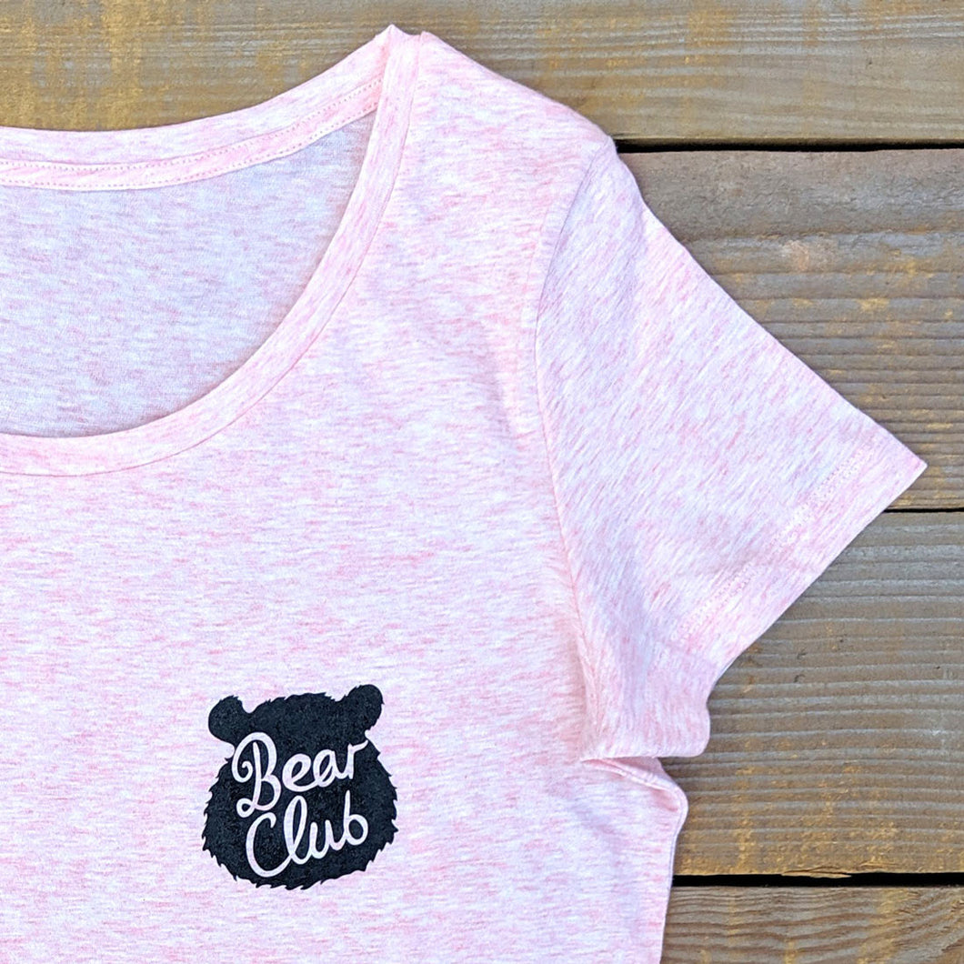 'Bear Club' Scoop neck T-Shirt