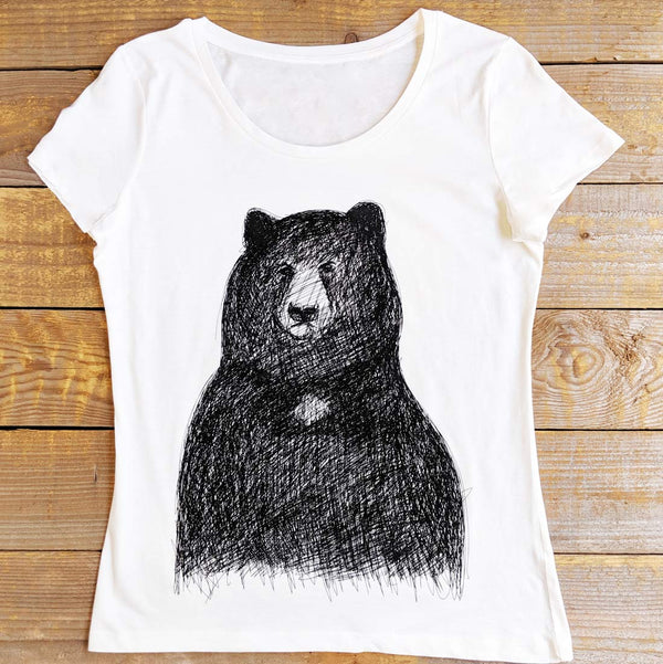 big bear women's t-shirt