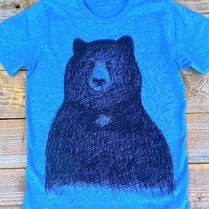 big bear kids tee close up