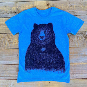 big bear blue kids tshirt