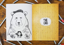 bear colouring book