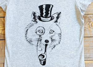 'Disguise Fox' Scoop neck T-Shirt