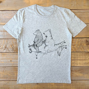 shark dinosaur and bear christmas shirt