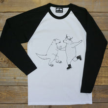 ice skating raglan