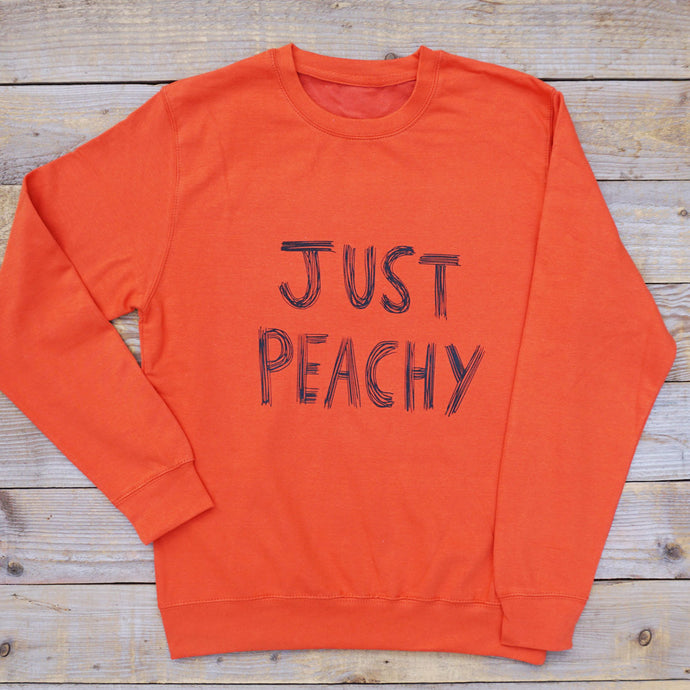 'Just Peachy' Jumper