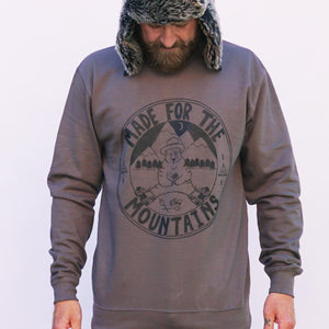 bear mountains jumper charcoal
