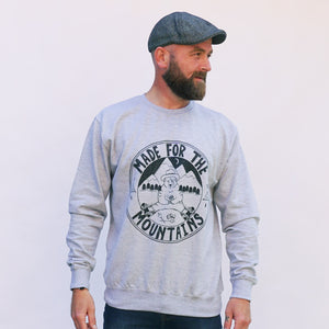 cool camping bear jumper