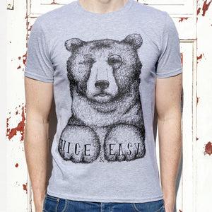 BEAR SHIRT GREY