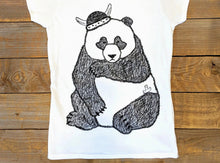 'Sad Panda' Scoop neck T-Shirt
