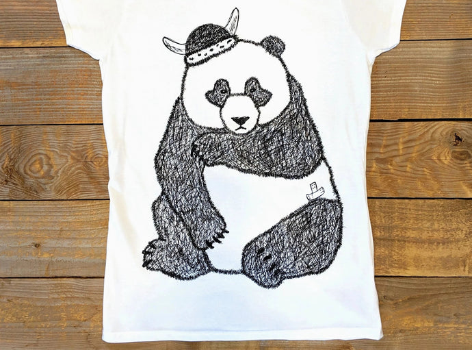 'Sad Panda' Women's T-Shirt