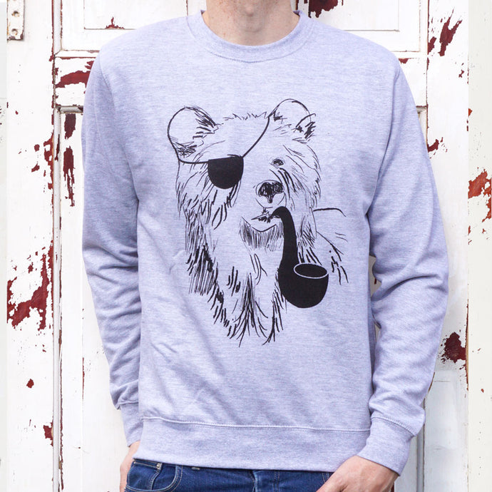 pirate bear sweater