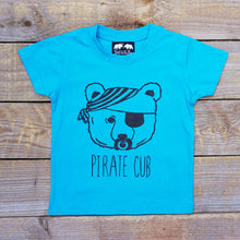 pirate cub t-shirt blue
