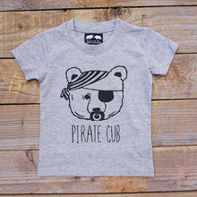 grey pirate cub tee