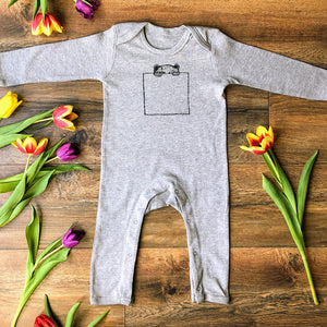 Pocket Bear Baby Grow