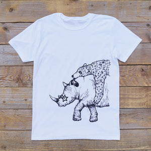 rhino and bear white top long shot