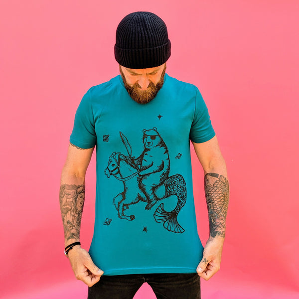 Ocean Depth bear t-shirt