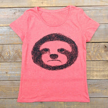 women's sloth t-shirt
