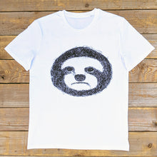 white sloth t-shirt