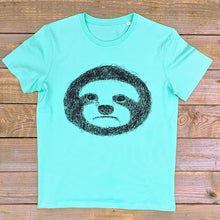 light green sloth tee