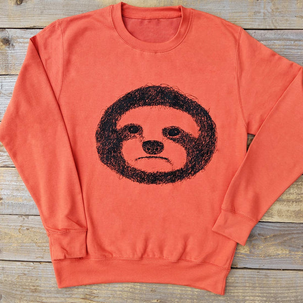 orange sloth jumper