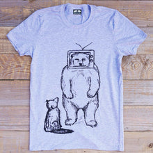 TV BEAR AND FOX T-SHIRT